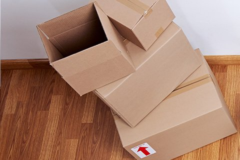 Packing services for moving house